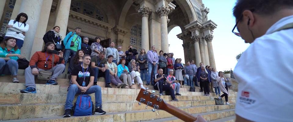 Пасторы евангельских церквей совершили причастие на Святой земле