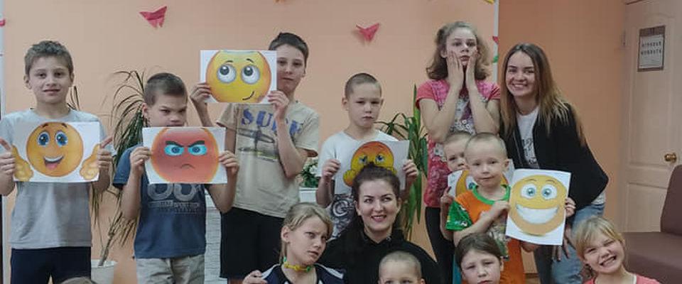 Волонтёры фонда «Преображение» учили детей нести любовь через таланты